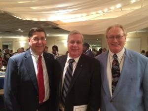 Bro. Tom Giardino, S.M. '60, Bro. Joe Kamis, S.M. '65 & Bro. Mike O'Grady, S.M. '64